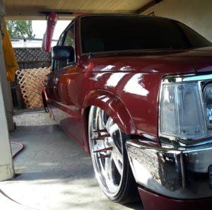 red car vehicle dent removal Salinas