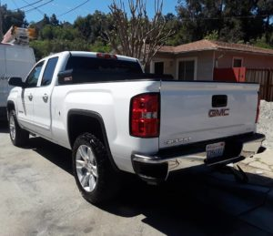 Salinas car scratch repair cost estimate