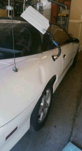 white car fix a dent Salinas