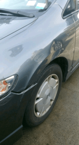 gray car quick dent repair salinas
