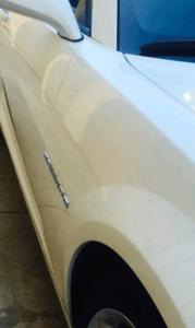 white car Salinas repair estimate