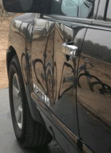 Salinas remove dent from car door