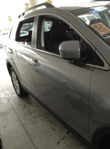 salinas collision center gray car