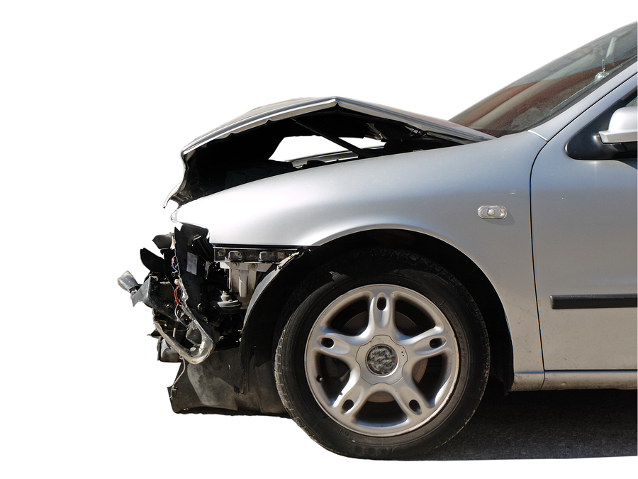 car involved in a car accident that will need to file a car insurance claim