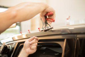 Prisitine Performing Paintless Dent Repair