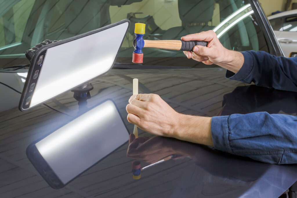 paintless dent removals